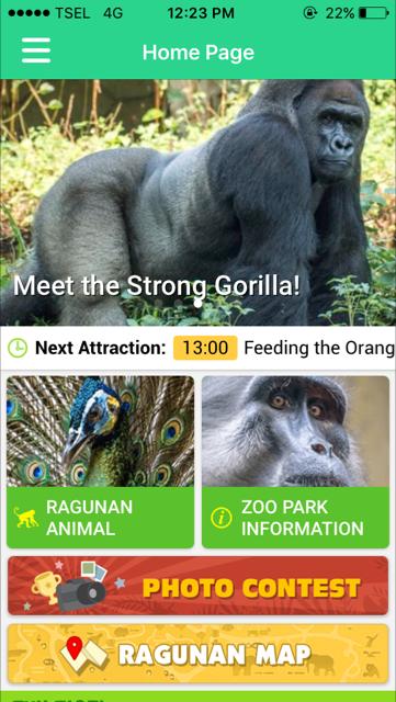 Aplikasi Ragunan Zoo